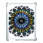 Rose Window Strasbourg Cathedral Apple iPad 3/4 Case (White) Front