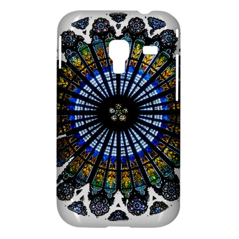 Rose Window Strasbourg Cathedral Samsung Galaxy Ace Plus S7500 Hardshell Case