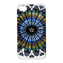 Rose Window Strasbourg Cathedral Apple iPhone 4/4S Hardshell Case with Stand