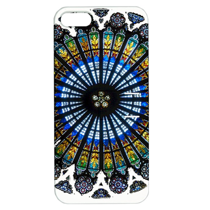 Rose Window Strasbourg Cathedral Apple iPhone 5 Hardshell Case with Stand