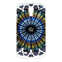 Rose Window Strasbourg Cathedral Samsung Galaxy S4 I9500/I9505 Hardshell Case