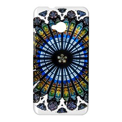 Rose Window Strasbourg Cathedral HTC One M7 Hardshell Case