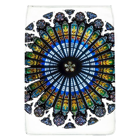Rose Window Strasbourg Cathedral Flap Covers (L)