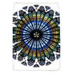 Rose Window Strasbourg Cathedral Flap Covers (L)  Front