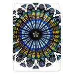 Rose Window Strasbourg Cathedral Flap Covers (S)  Front