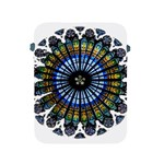 Rose Window Strasbourg Cathedral Apple iPad 2/3/4 Protective Soft Cases Front