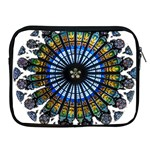 Rose Window Strasbourg Cathedral Apple iPad 2/3/4 Zipper Cases Front