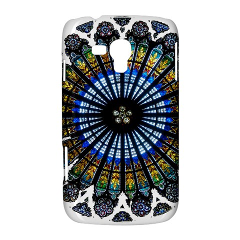 Rose Window Strasbourg Cathedral Samsung Galaxy Duos I8262 Hardshell Case