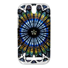 Rose Window Strasbourg Cathedral HTC One SV Hardshell Case
