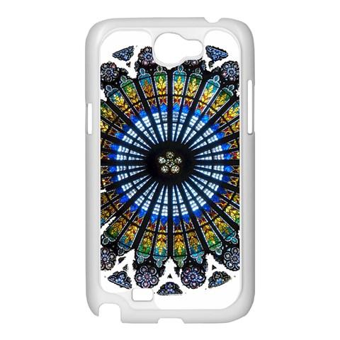 Rose Window Strasbourg Cathedral Samsung Galaxy Note 2 Case (White)