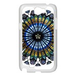 Rose Window Strasbourg Cathedral Samsung Galaxy Note 2 Case (White) Front