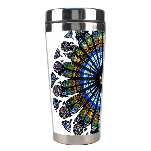 Rose Window Strasbourg Cathedral Stainless Steel Travel Tumblers