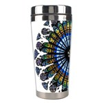 Rose Window Strasbourg Cathedral Stainless Steel Travel Tumblers Left