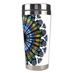 Rose Window Strasbourg Cathedral Stainless Steel Travel Tumblers Right