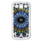 Rose Window Strasbourg Cathedral Samsung Galaxy S3 Back Case (White) Front