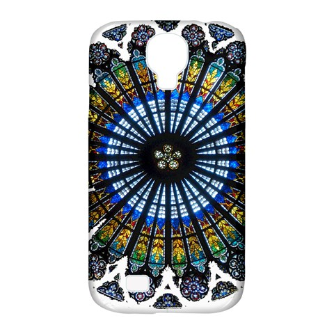 Rose Window Strasbourg Cathedral Samsung Galaxy S4 Classic Hardshell Case (PC+Silicone)
