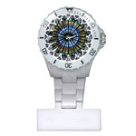 Rose Window Strasbourg Cathedral Plastic Nurses Watch Front