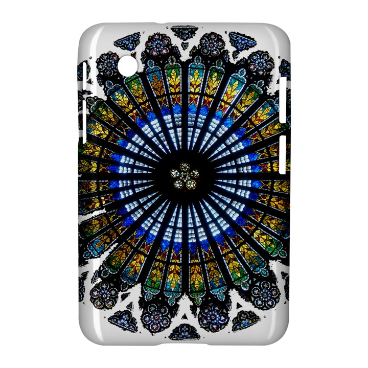 Rose Window Strasbourg Cathedral Samsung Galaxy Tab 2 (7 ) P3100 Hardshell Case