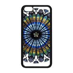 Rose Window Strasbourg Cathedral Apple iPhone 5C Seamless Case (Black)