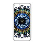 Rose Window Strasbourg Cathedral Apple iPhone 5C Seamless Case (White) Front