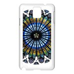 Rose Window Strasbourg Cathedral Samsung Galaxy Note 3 N9005 Case (White) Front
