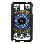 Rose Window Strasbourg Cathedral Samsung Galaxy Note 3 N9005 Case (Black) Front