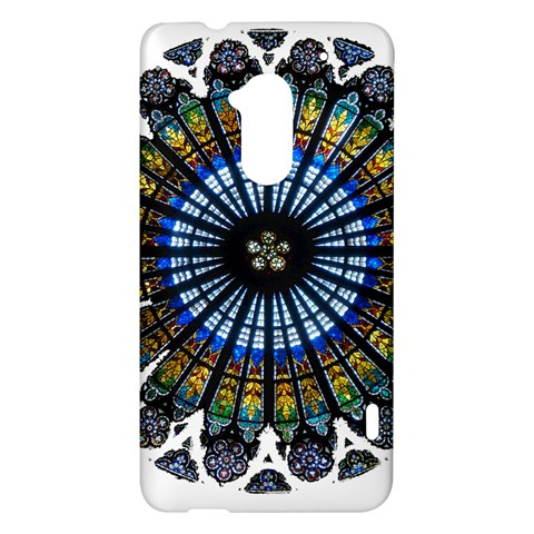 Rose Window Strasbourg Cathedral HTC One Max (T6) Hardshell Case