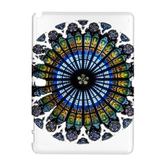 Rose Window Strasbourg Cathedral Samsung Galaxy Note 10.1 (P600) Hardshell Case