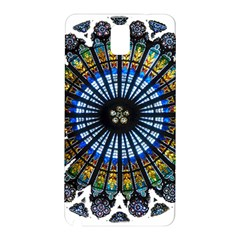 Rose Window Strasbourg Cathedral Samsung Galaxy Note 3 N9005 Hardshell Back Case