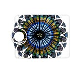 Rose Window Strasbourg Cathedral Kindle Fire HD (2013) Flip 360 Case Front