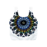 Rose Window Strasbourg Cathedral Full Print Recycle Bags (S)  Front