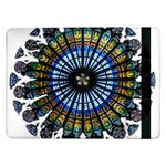 Rose Window Strasbourg Cathedral Samsung Galaxy Tab Pro 12.2  Flip Case Front