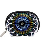 Rose Window Strasbourg Cathedral Accessory Pouches (Small)  Front