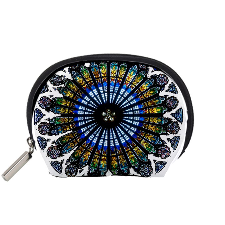 Rose Window Strasbourg Cathedral Accessory Pouches (Small)