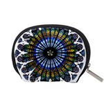 Rose Window Strasbourg Cathedral Accessory Pouches (Small)  Back