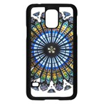 Rose Window Strasbourg Cathedral Samsung Galaxy S5 Case (Black) Front