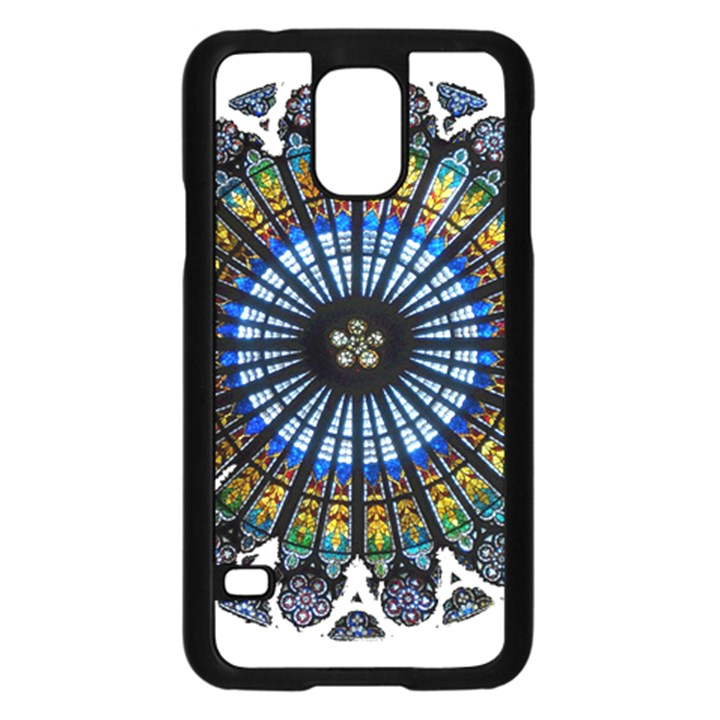 Rose Window Strasbourg Cathedral Samsung Galaxy S5 Case (Black)