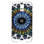 Rose Window Strasbourg Cathedral Samsung Galaxy S5 Back Case (White) Front