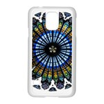 Rose Window Strasbourg Cathedral Samsung Galaxy S5 Case (White) Front