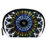 Rose Window Strasbourg Cathedral Accessory Pouches (Large)  Front