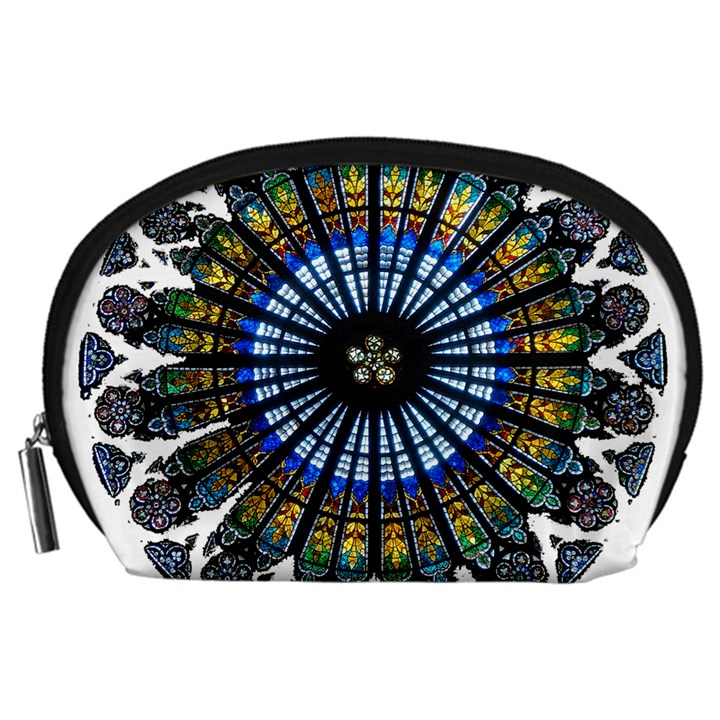 Rose Window Strasbourg Cathedral Accessory Pouches (Large)