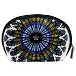 Rose Window Strasbourg Cathedral Accessory Pouches (Large)  Back