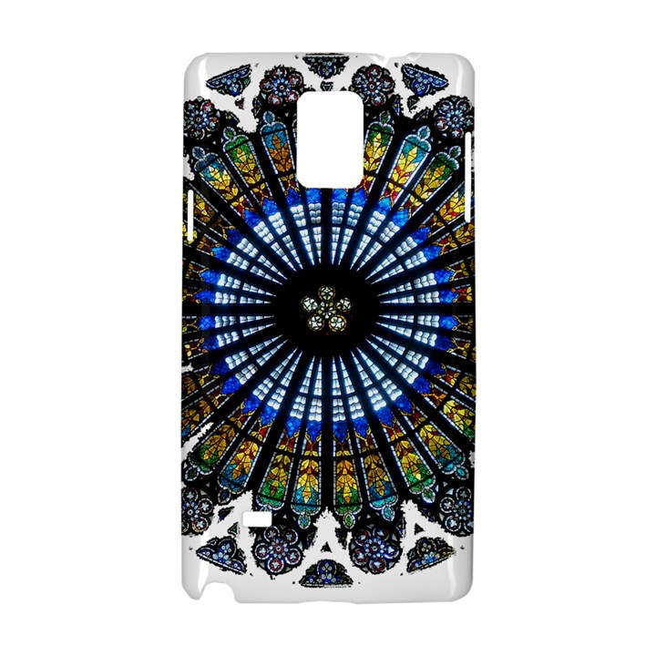 Rose Window Strasbourg Cathedral Samsung Galaxy Note 4 Hardshell Case