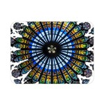 Rose Window Strasbourg Cathedral Double Sided Flano Blanket (Mini)  35 x27 Blanket Back