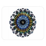 Rose Window Strasbourg Cathedral Double Sided Flano Blanket (Large)  80 x60 Blanket Front