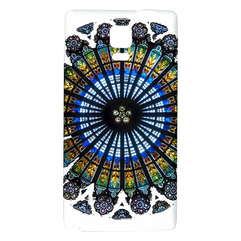 Rose Window Strasbourg Cathedral Galaxy Note 4 Back Case