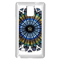 Rose Window Strasbourg Cathedral Samsung Galaxy Note 4 Case (White)