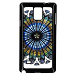 Rose Window Strasbourg Cathedral Samsung Galaxy Note 4 Case (Black) Front