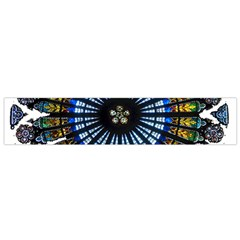 Rose Window Strasbourg Cathedral Flano Scarf (Small)