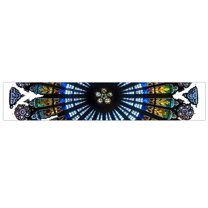 Rose Window Strasbourg Cathedral Flano Scarf (Large)